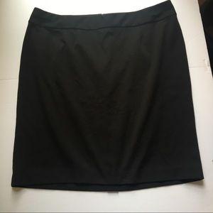 Lane Bryant black pencil skirt